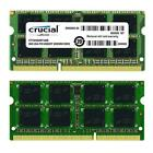 Crucial 16GB 2X8GB Dual Channel DDR3 1600MHz PC3-12800 SO-DIMM Laptop Memory NEW