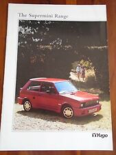 Yugo range brochure c1990
