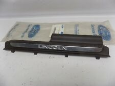 New OEM 2002 Lincoln Blackwood Right Rear Door Scuff Pad Sill Plate Cover NOS