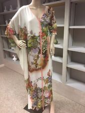 Alberto Makali floral maxi dress multi color SZ S