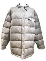 NEW, BROOKS BROTHERS MEN'S LIGHT BLUE DOWN JACKET, XL, $345
