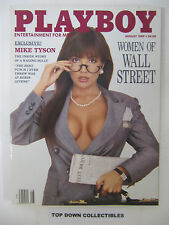 Playboy  Magazine    August  1989   Women Of Wall Street/Gianna Amore POTM