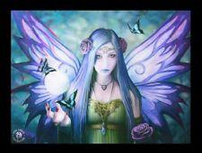 3d CUADRO CON ELFO - Mystic Aura - Anne Stokes Fantasy Póster Lienzo impresión