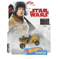 Hot Wheels Mattel Star Wars Collectible Character Car Rose Vehicle Brand NEW