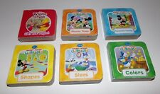 Disney Mickey Mouse Clubhouse Mini Books 6 Total Toddler Learning Books