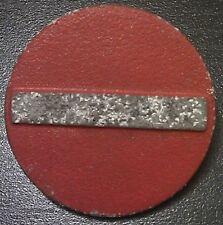 (No0100) German Winterhilfswerk WHW badge TRAFFIC SIGN WW2 NS Volkswohlfahrt