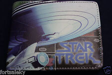 * STAR TREK Wallet Bi fold US Seller Kirk Spock cosplay comic con Cool gift