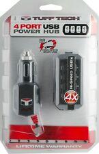 Custom Accessories Tuff Tech 4 Port USB Power Hub 23379