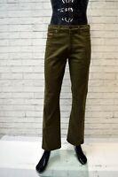 Pantalone WRANGLER Uomo Taglia 31 Jeans Regular  Pants Man Elastico Verde Hose
