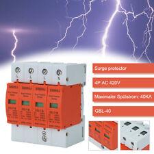 Überspannungsschutz Blitzschutz 40kA 4-Polig Kombiableiter AC 420V Ableiter DE