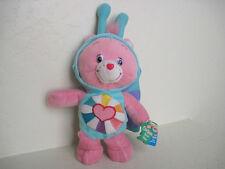 "11"" Care Bears ~Natural Wonders HOPEFUL HEART BEAR Bee Plush Stuffed Animal"
