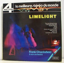 33T LIMELIGHT Disque LP F. CHACKSFIELD Orchestre DECCA 4072 PHASE 4 STEREO RARE