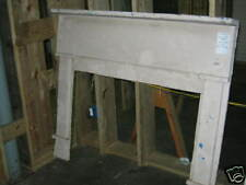 """Antique Heart Pine Fireplace Mantel overall dimesions 59 1/4"""" x 51 3/4"""""""