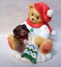 """Enesco Cherished Teddies Lee 1997 """"You're A Bear's Best Friend"""" #272167"""