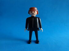 Playmobil Hombre pantalon y camiseta negra Man in Black  70´s