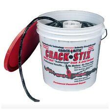 Permanent Black Driveway Blacktop Asphalt Concrete Crack Filler Repair Patch New