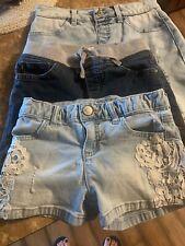 Justice Shorts Lot Sz 10