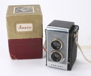 ANSCO ADMIRAL, 6X6 ON 620, BOXED, SHUTTER DEFECTIVE, AS-IS/cks/188709