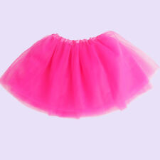 Fashion Girls Kid Dancewear Costume Multicolor Tulle Tutu Skirt Princess Dressup