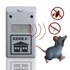 US Modl Garden Electronic Repeller AP Riddex Plus Ultrasonic Pest Rodent Kille