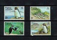 Tristan da Cunha: 1974, Rockhopper Penguins,  MNH set