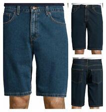 St. John's Bay Denim Jean Shorts Medium or Dark Stone wash 32 38 40 42 44
