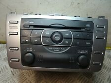 MAZDA 6 STEREO RADIO CD PLAYER SPORT D 2.2 DIESEL 185 BHP 2009