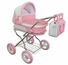 Beautiful Pink Sno-flake Windsor Dolls Pram Suitable 3-7 years - NOW  AVAILABLE