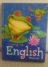 Moving into English 2nd Grade 2 HARCOURT TEXT VOCABULARY Language Art HOMESCHOOL