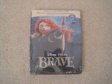 Disney Pixar Brave Exclusive Best Buy SteelBook Case Brand New Rare (Case Only)