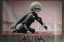 Roger Dean 24x36 Astra Music Poster 1985 Asia