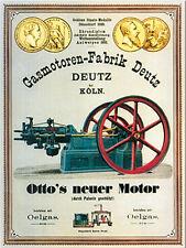 Magnet Deutz Gasmotoren-Fabrik, 6 x 8 cm