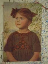 Liselott Portrait Mädchen Kind Bäume Gemälde Kunst Postkarte Ansichtskarte 3386