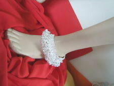 """Unbranded Silver Plated 11 - 12"""" Length Costume Anklets"""