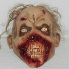 GHOULISH ROTTEN GUMS ZOMBIE MASK Halloween Costume Prop Walking Dead Horror Face