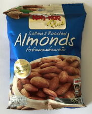 Almond Salted nut&seed snack delicious thai food preservation28gx10 FreeShipping