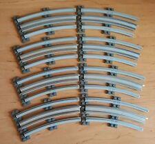 LEGO 12V 7851 & 7855 Curved Electric Rails 12 Volt Train Track Gray Railway