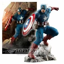 1:10 Marvel Universe Avengers Captain America Premier Statue ARTFX Kotobukiya