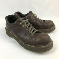 Doc Dr Martens 8312 Brown Leather Mens 11 6 Eye Oxford Shoes