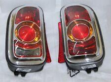 2x Original OEM MINI CLUBMAN R55 NARANJA Lampara de cola trasera kit para RHD