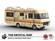 Lego MOC | Breaking Bad RV | The Krystal Ship | PDF Instructions (NO BRICKS)