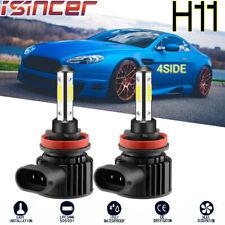 CREE 4-Sided LED Headlight Kit H8/H9/H11 3000W 373000LM 6000K LO Beam White Bulb