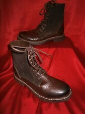Mens Brown lace up boots size 6 - - WILL ACCEPT OFFERS