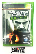 XBOX JEU VIDEO SPLINTER CELL DOUBLE AGENT - COMPLET FRANCAIS