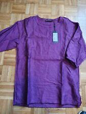 Dolce e gabbana t-shirt uomo in lino tg. 44