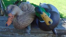 Mallard Decoy Ducks, 1 Pair