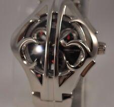 New Von Dutch Kobra Steel Swiss Made Eta Chronograph Steel Bracelet Watch