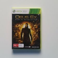 Deus Ex Human Revolution XBOX 360 PAL - Aus Stock