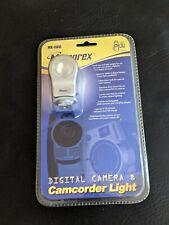Memorex MX-CAVL Digital Camera Camcorder Light 3 Watt NEW