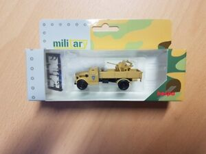 Herpa 745789 - 1/87 Opel Blitz Truck Armored With 20mm Cannon - New